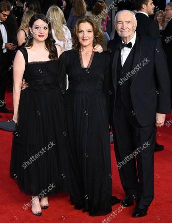 Angelica Zollo, Barbara Broccoli and Michael G. Wilson