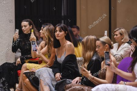 Simona Tabasco, Anna Dello Russo, Ambra Angiolini, Olivia Palermo and Nataly Osmann