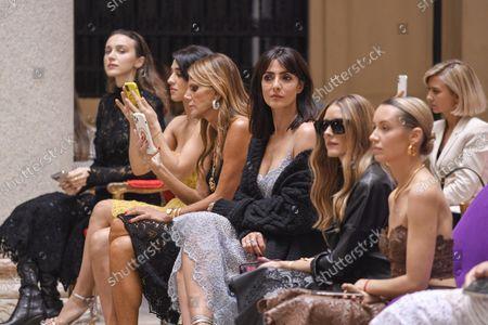 Stock Picture of Simona Tabasco, Anna Dello Russo, Ambra Angiolini, Olivia Palermo and Nataly Osmann