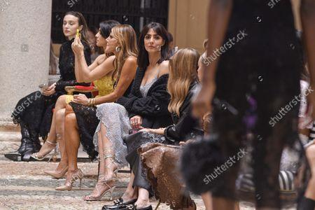 Stock Photo of Simona Tabasco, Anna Dello Russo, Ambra Angiolini, Olivia Palermo and Nataly Osmann