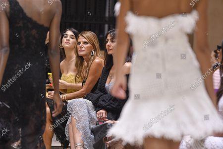 Stock Image of Simona Tabasco, Anna Dello Russo, Ambra Angiolini, Olivia Palermo and Nataly Osmann