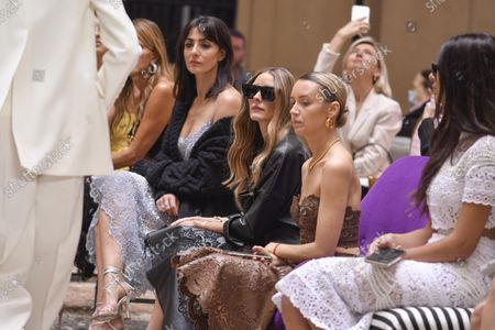 Editorial photo of Ermanno Scervino show, Front Row, Spring Summer 2022, Milan Fashion Week, Italy - 25 Sep 2021
