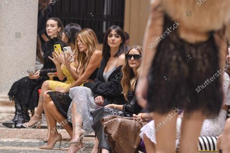 Editorial image of Ermanno Scervino show, Front Row, Spring Summer 2022, Milan Fashion Week, Italy - 25 Sep 2021