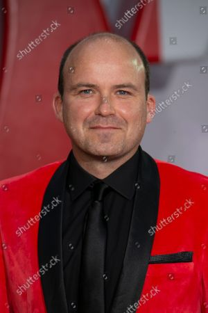 Rory Kinnear poses for photographers upon arrival for the World premiere of the film 'No Time To Die', in London