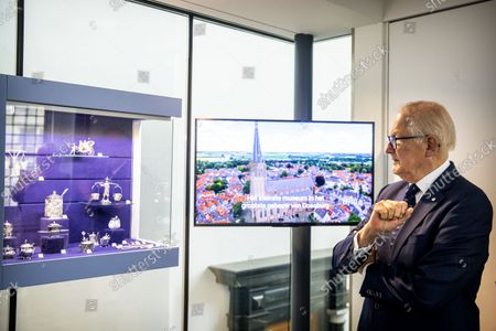 Editorial photo of Silver Museum opening, Doesburg, The Netherlands - 24 Sep 2021