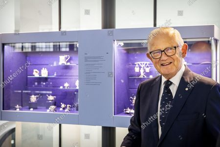 Pieter Van Vollenhoven opens the Silver Museum Doesburg on Friday afternoon 24 September. The museum is located in the Martinikerk in Doesburg and displays a collection of silver mustard jars, mustard spoons and related silver objects.