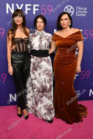 Dakota Johnson, Jessie Buckley and Dagmara Dominczyk