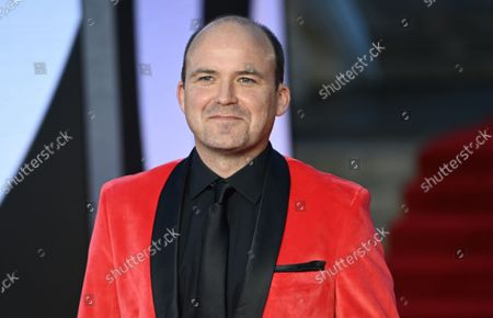 Rory Kinnear poses for photographers at the world premiere of the new James Bond film 'No Time To Die' at the Royal Albert Hall in London, Britain, 28 September 2021. The 25th movie in the James Bond series opens in British theaters on 30 September 2021.
