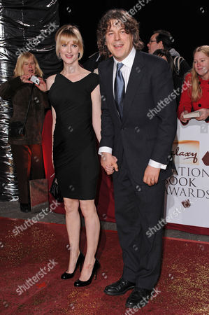 Stock Picture of Alan Davies and wife Katie Maskell