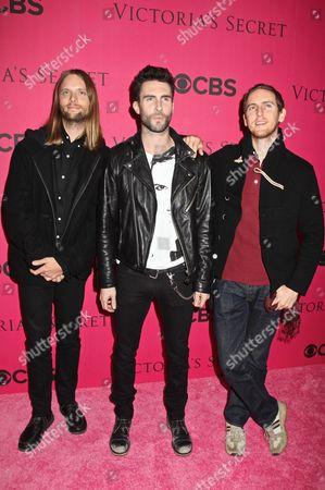 Maroon 5 - James Valentine, Adam Levine and Jesse Carmichael