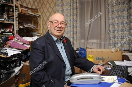 Editorial picture of Rabbi Lionel Blue in the study of  at his home in Finchley, London, Britain - 04 Nov 2010