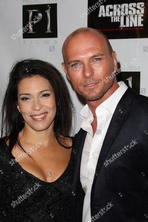 Claudia Ferri and Luke Goss