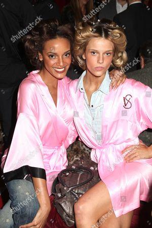 Selita Ebanks and Fabiana Semprebom