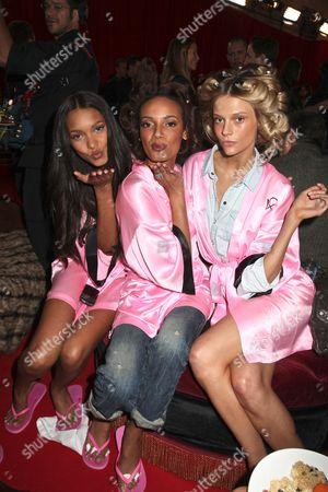 Stock Photo of Gracie Carvalho, Selita Ebanks and Fabiana Semprebom