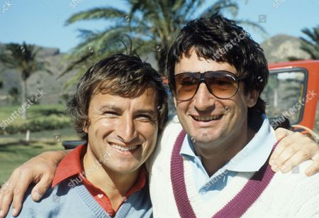Stock Photo of Jim Rosenthal and Ted Ayling