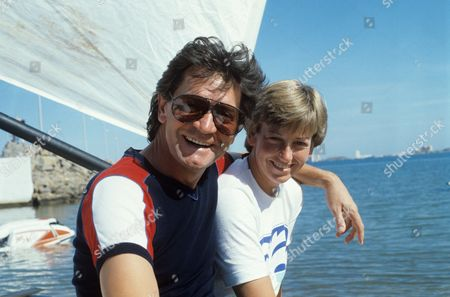 Stock Picture of Patrick Mower and Janette Brittin