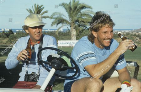 Lennie Bennett and  Ian Botham