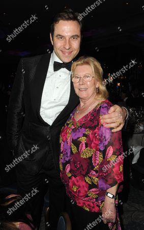 David Walliams and Anne Walker