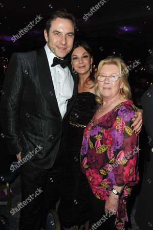 David Walliams, Susan Young and mother Anne Walker