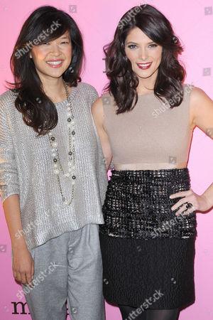 Stock Photo of Su-chin Pak and Ashley Greene