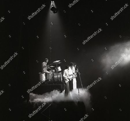 Stock Photo of The Bee Gees - Colin Petersen, Maurice Gibb, Barry Gibb and Vince Melouney