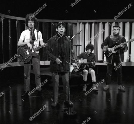 Stock Photo of Eric Burdon and The New Animals - Danny McCulloch, Eric Burdon, John Weider and Vic Briggs