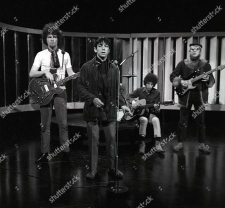 Stock Image of Eric Burdon and The New Animals - Danny McCulloch, Eric Burdon, John Weider and Vic Briggs