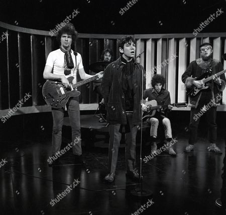 Stock Picture of Eric Burdon and The New Animals - Danny McCulloch, Barry Jenkins, Eric Burdon, John Weider and Vic Briggs