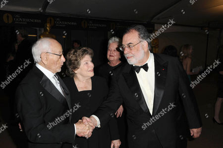 Eli Wallach and Anne Jackson with Francis Ford Coppola