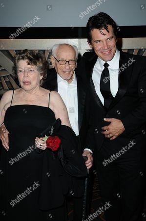 Anne Jackson, Eli Wallach and Josh Brolin