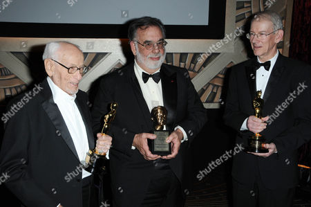 Eli Wallach, Francis Ford Coppola and Kevin Brownlow
