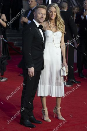 Ronan Keating and wife Storm