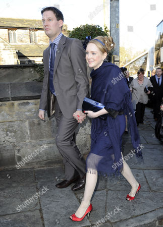 Editorial picture of Wedding of Simon Gregson and Emma Gleave, St Bartholomew's Church, Wilmslow, Cheshire, Britain - 13 Nov 2010