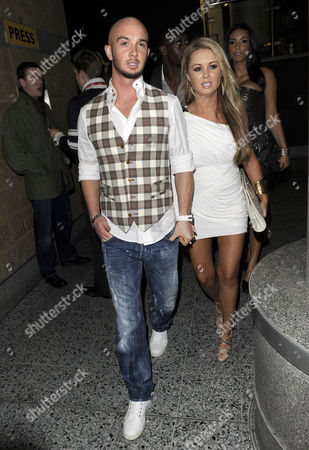 Stephen Ireland and girlfriend Jessica Lawlor