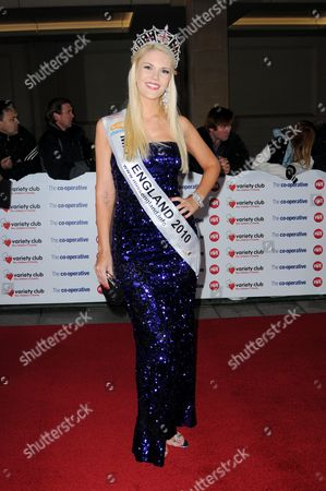 Miss England Jessica Linley