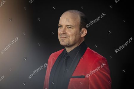 Rory Kinnear poses for photographers upon arrival for the World premiere of the new film from the James Bond franchise 'No Time To Die', in London