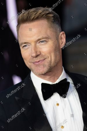 Ronan Keating poses for photographers upon arrival for the World premiere of the new film from the James Bond franchise 'No Time To Die', in London