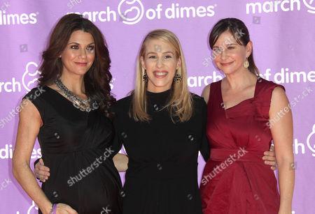 Samantha Harris, Dr Jenn Berman and Kellie Martin