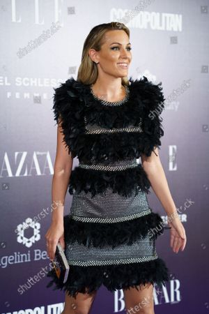 """Edurne García Almagro attends the photocall """"Femme Magique """" in Madrid."""