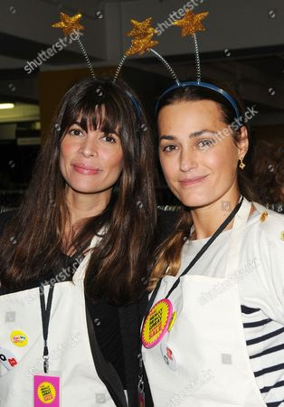 Lisa B and Yasmin Le Bon