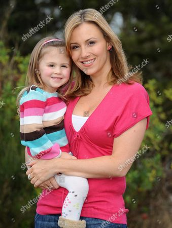 Sophie Blake with her daughter Maya
