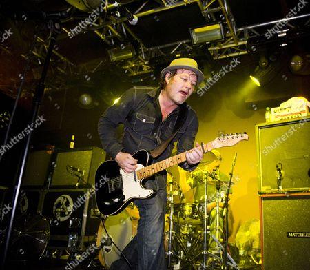 Editorial image of The Levellers in concert at Liquidrooms, Edinburgh, Scotland - 13 Nov 2010
