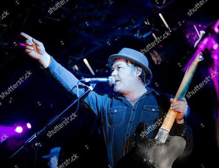 Editorial photo of The Levellers in concert at Liquidrooms, Edinburgh, Scotland - 13 Nov 2010