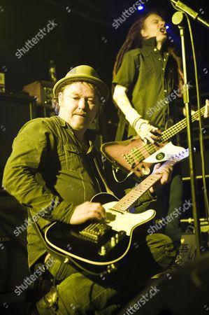 Editorial picture of The Levellers in concert at Liquidrooms, Edinburgh, Scotland - 13 Nov 2010