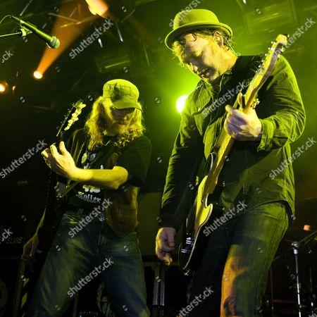 The Levellers - Simon Friend and Matt Chadwick