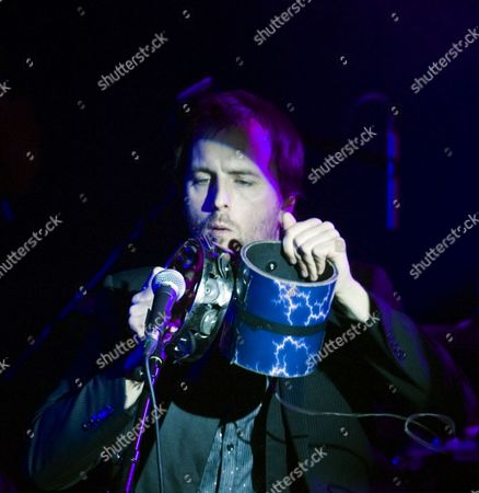 Editorial image of Bellowhead in concert at Liquidrooms, Edinburgh, Scotland - 14 Nov 2010