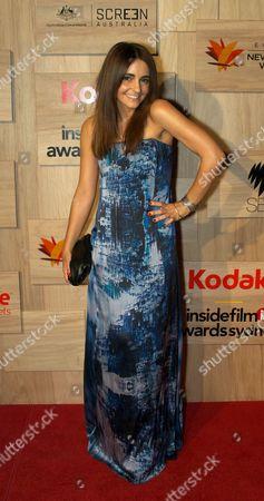 Editorial picture of Inside Film Awards in Sydney, Australia - 14 Nov 2010