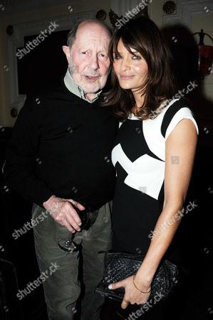 Helena Christensen and Nicolas Roeg