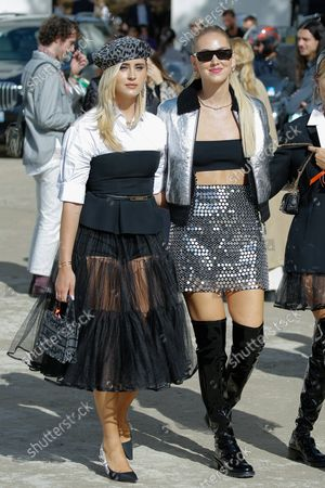 Editorial photo of Dior show, Outside Arrivals, Spring Summer 2021, Paris Fashion Week, France - 28 Sep 2021