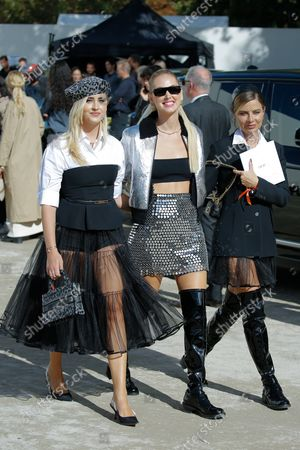 Editorial image of Dior show, Outside Arrivals, Spring Summer 2021, Paris Fashion Week, France - 28 Sep 2021